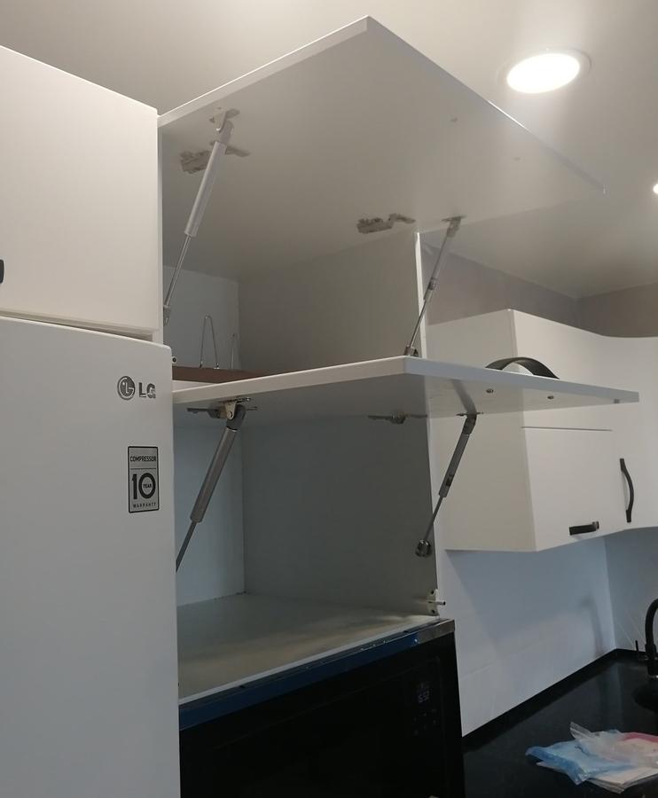 Белый кухонный гарнитур-Кухня МДФ в ПВХ «Модель 29»-фото12