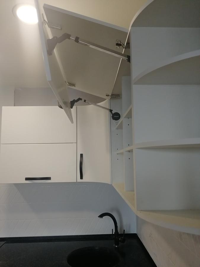 Белый кухонный гарнитур-Кухня МДФ в ПВХ «Модель 29»-фото10