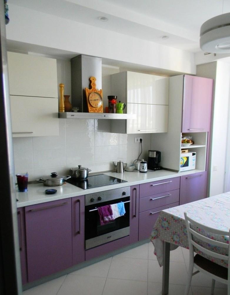 Встроенная кухня-Кухня МДФ в ПВХ «Модель 238»-фото4