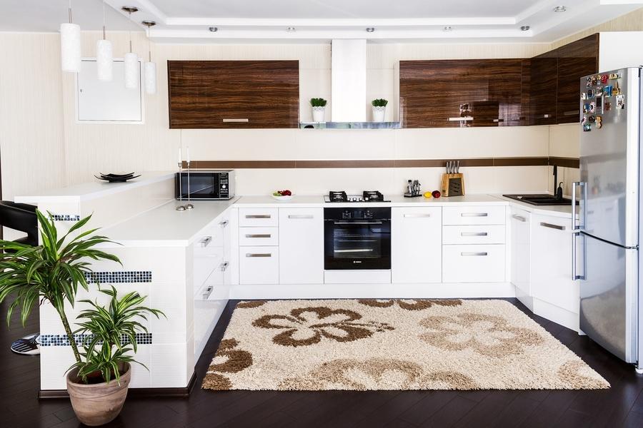 Акриловые кухни-Кухня из акрила «Модель 407»-фото1