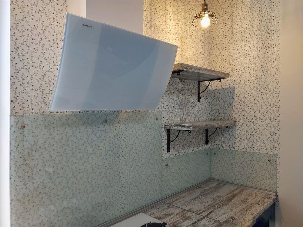 Встроенная кухня-Кухня МДФ в эмали «Модель 528»-фото8