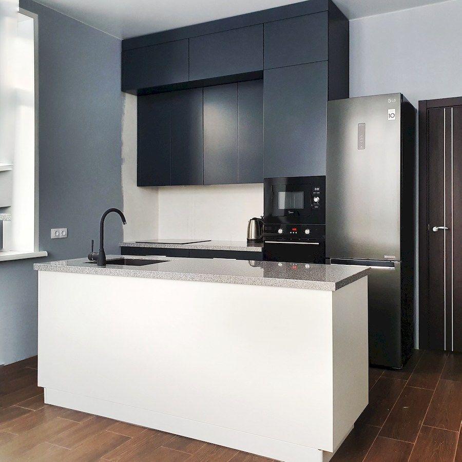 Купить кухню-Кухня МДФ в эмали «Модель 557»-фото2