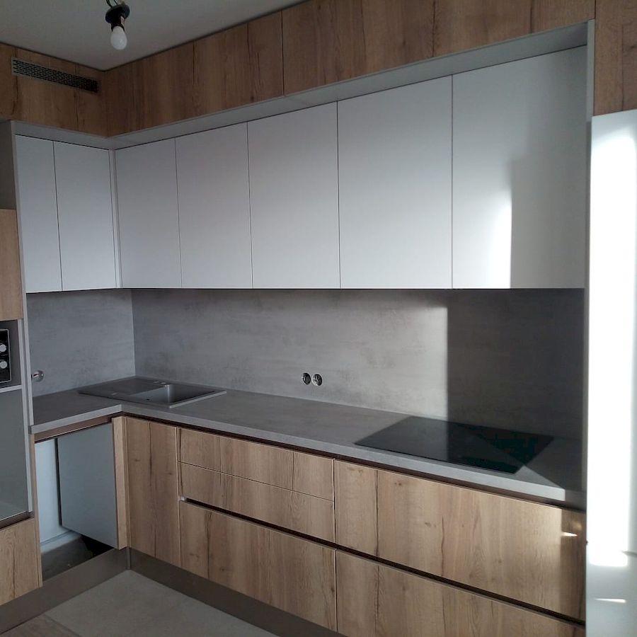 Белый кухонный гарнитур-Кухня из ЛДСП «Модель 651»-фото3