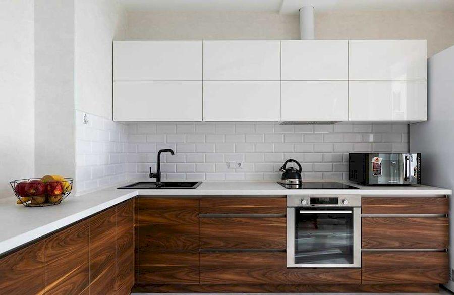 Купить кухню-Кухня из пластика «Модель 635»-фото2