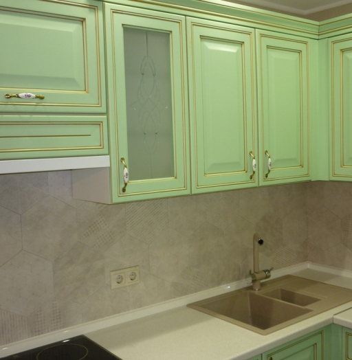 -Кухня МДФ в ПВХ «Модель 326»-фото15