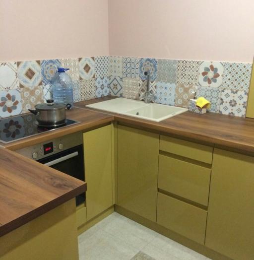 -Кухня МДФ в эмали «Модель 90»-фото3