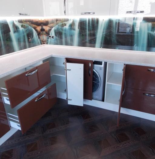 -Кухня из шпона «Модель 14»-фото2