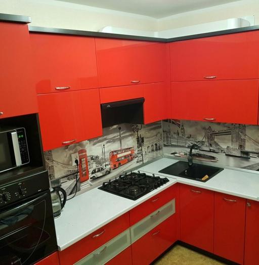 -Кухня из пластика «Модель 138»-фото14
