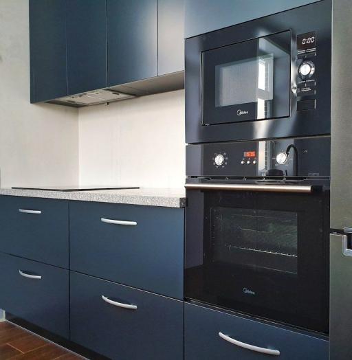 Купить кухню-Кухня МДФ в эмали «Модель 557»-фото6